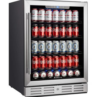 Refrigerator 175 Cans Capacity Beverage Cooler