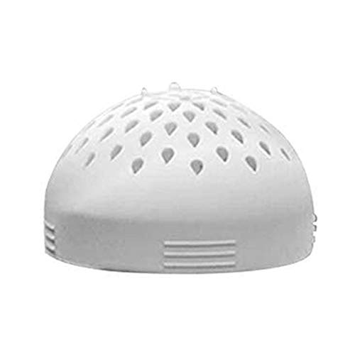 Multi-use Mini Colander - Micro Kitchen Colander Food Mesh Colander, Portable Mini Can Drainer, for Drain Chickpeas,Tinned Fruit and Beans,Quick Draining, Strain and Contain Food (white)