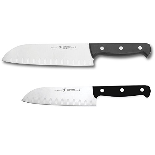 HENCKELS Fine Edge Pro Asian Knife Set, 2-piece, Black/Stainless Steel