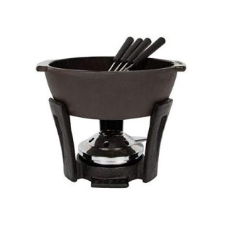 BOSKA Party Pro Cheese Fondue Set, 900ml, Black