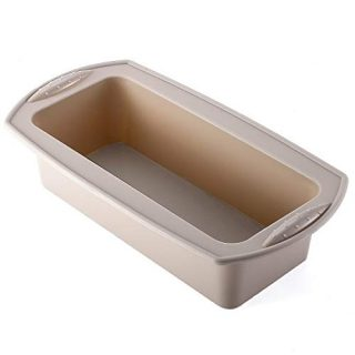 Silicone Loaf Pan, Silicone Bread Pan, Non-Stick Loaf Pan for Homemade Baking Bread, Meatloaves, Cakes or Brownies,1 2/5 Pound Loaf Pan,BPA free and Dishwasher Safe (1-PCS)