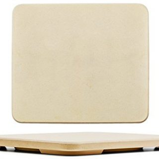 """#1 Pizza Stone - Baking Stone. SOLIDO Rectangular 14""""x16"""" - Perfect for Oven, BBQ and Grill"""
