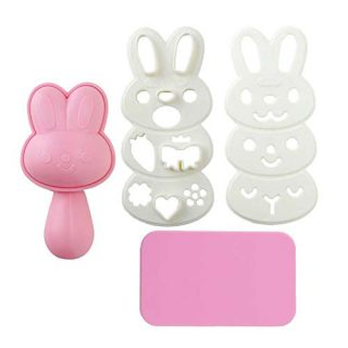 MXY DIY Rabbit Rice Bread Mold Cartoon Shape Maker Creative Rice Ball Sushi Cake Biscuits Sandwich Cookie Tools Bento Box Deacor Kitchen Utensil