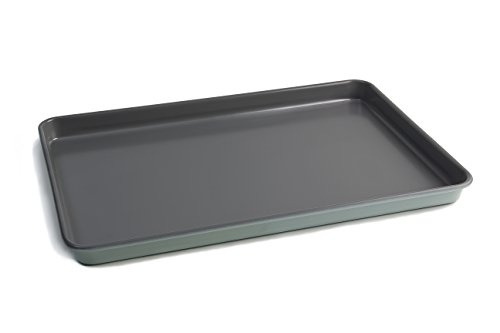 Jamie Oliver Baking Tray Nonstick Cookie Half Sheet Pan, Professional Heavy-guage Carbon Steel Construction - 15 X 10 Inch