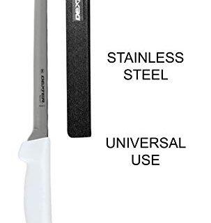 8-inch Fillet Knife – Dexter-Russell Narrow Boning Knife – High-Carbon Steel Blade – Professional Slicing Knife for Deboning, Filleting and Skinning Meat –Polypropylene Blade Guard