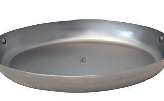 "Mineral B Element 9.5"" Oval Steel Roasting Pan"