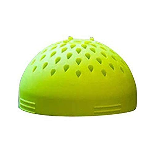 Multi-use Mini Colander - Micro Kitchen Colander Food Mesh Colander, Portable Mini Can Drainer, for Drain Chickpeas,Tinned Fruit and Beans,Quick Draining, Strain and Contain Food (green)