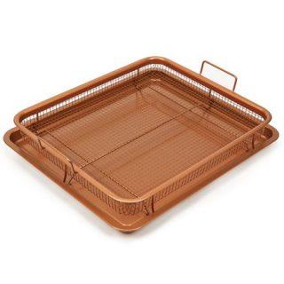 Copper Chef Nonstick Copper Crisper Pan