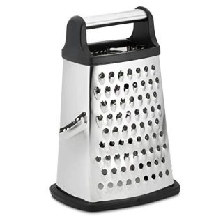 Professional Box Grater, Stainless Steel with 4 Sides