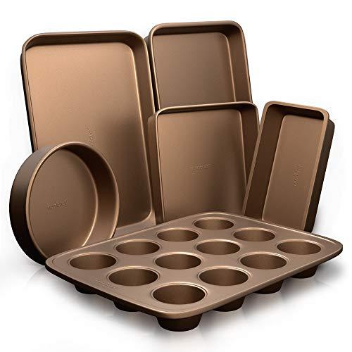 Nonstick Bakeware Set-Highest-Quality Baking Sheets