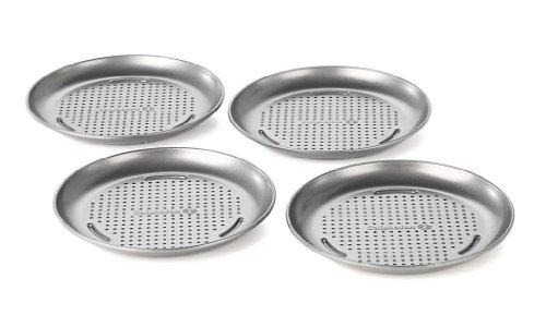 Calphalon 4 PACK MINI PIZZA PAN, 7-in, Silver