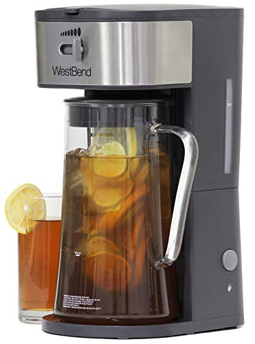 Fresh Iced Tea and Coffee Maker Includes an Infusion Tube