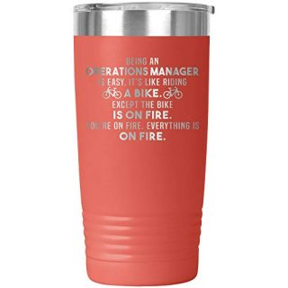 Operations Manager Tumbler Travel Mug Coffee Cup Funny
