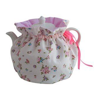 JOONOR Tea Cosy - 100% Cotton Printed Tea Cosy, Kitchen Tea Pot Dust Cover, Breakfast Warmer, Insulation and Keep Warm, 1Pack