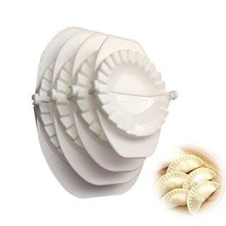 Emousport 4pcs/set Press Ravioli Dough Pastry Pie Dumpling Maker Gyoza Mold Mould Tool 4 Size Easy Eco Friendly Dumpling Mould