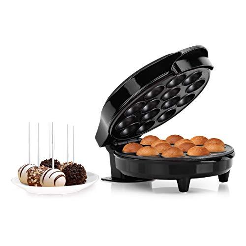 Holstein Housewares HF-09014SS Cake Pop Maker, Makes 14, Black