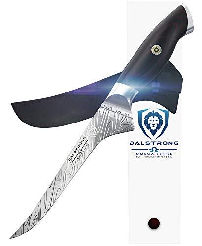 "DALSTRONG - Boning Knife - 6"" - Omega Series - American Forged BD1N-VX - Hyper Steel - w/Sheath"