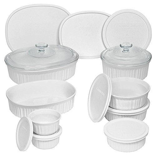 Ceramic Made and Oven and Microwave Safe Bakeware Set