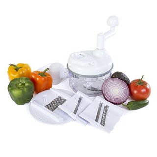 4 in 1 Miracle Chopper, Salsa Maker, Blende