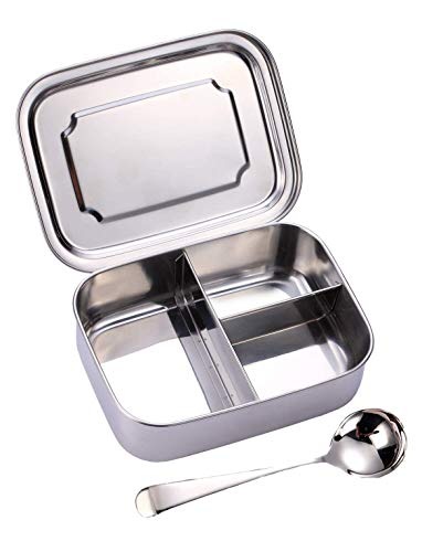 Stainless Steel Bento Box, Medium Snack Container