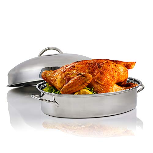 Nonstick Baking Tray with Lid & Rack