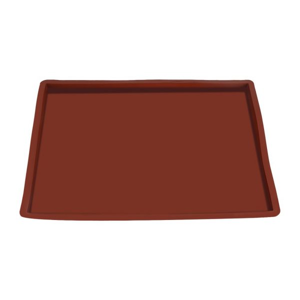 Zyyini Baking Mat, Swisses Roll Cake Mat Flexible Non Stick Baking Tray Silicone Cookies Mold, for Jellys Roll Pan Silicone Cookies Mold Bakeware