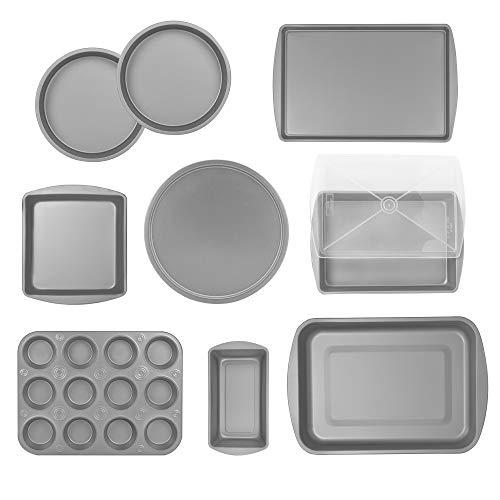Silver 10 Piece Bakeware Set