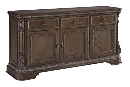 Signature Design by Ashley Charmond Dining Room Buffet, Brown