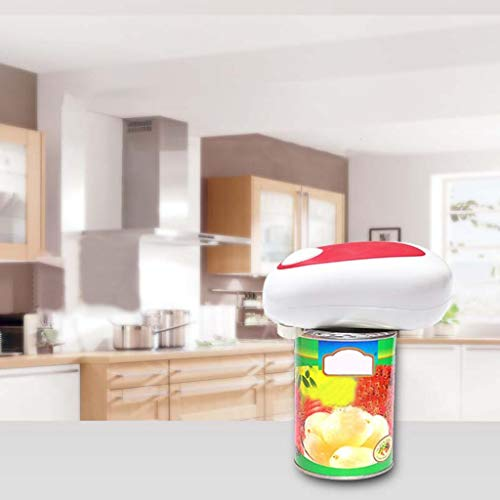 Electric Can Opener And Restaurant Can Opener Kitchen Can Opener Electric Jar Opener, Restaurant Automatic Jar Opener for Seniors with Arthritis, Weak Hands, Hands Free Bottle Opener