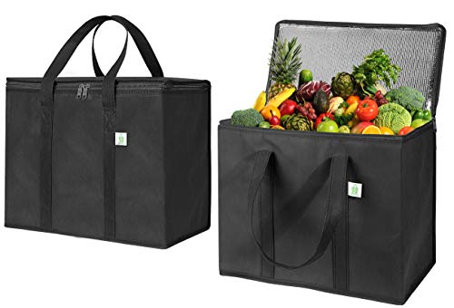 Insulated Reusable Grocery Bag by VENO, Durable