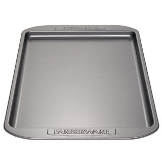 Farberware Nonstick Bakeware, Nonstick Cookie Sheet / Baking Sheet - 10 Inch x 15 Inch, Gray