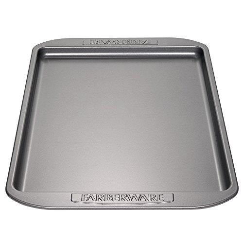 Farberware Nonstick Bakeware, Nonstick Cookie Sheet / Baking Sheet - 10 Inch x 15 Inch, Gray