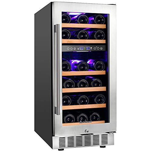28 Bottle Dual Zone Wine Refrigerator