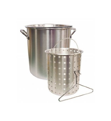 Camp Chef 42 Quart Aluminum Fry Pot & Basket