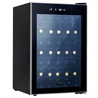 Counter Top Wine Cellar/Chiller with Digital Temperature Display