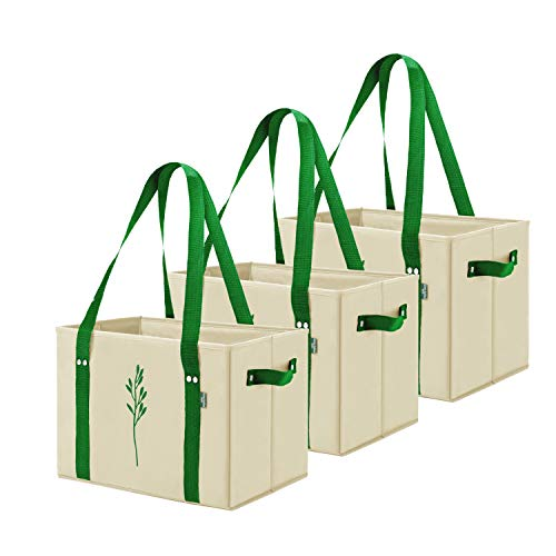 Heavy Duty Collapsible Reusable Grocery Bags
