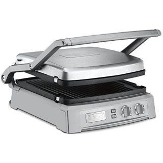 Cuisinart GR-150P1 GR-150 Griddler Deluxe, Brushed Stainless