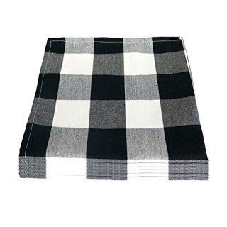 Boutique Buffalo Check Cloth Napkins