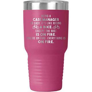 Case Manager Tumbler Travel Mug Coffee Cu