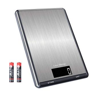 Digital Kitchen Scale Weight Grams and oz for Cooking Baking