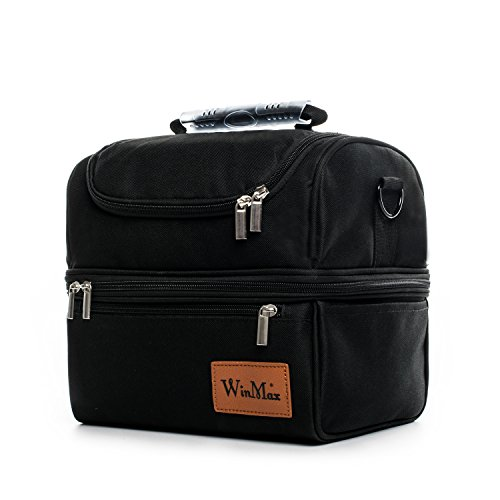 Lunch Box with Shoulder Strap for Men and Women