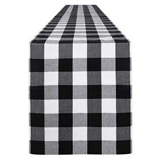 Buffalo Check Table Runner Cotton