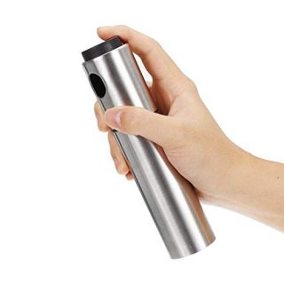 Stainless Steel Olive Oil Storage Spray Bottle Dispenser, Kitchen Barbecue Spray Cans, Barbecue Tools