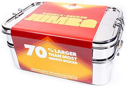 JUMBO Stainless Steel Bento Box