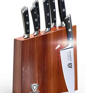 DALSTRONG Knife Set Block - Gladiator Series Knife Set - German HC Steel - Pakkawood Handles - 8 Pc