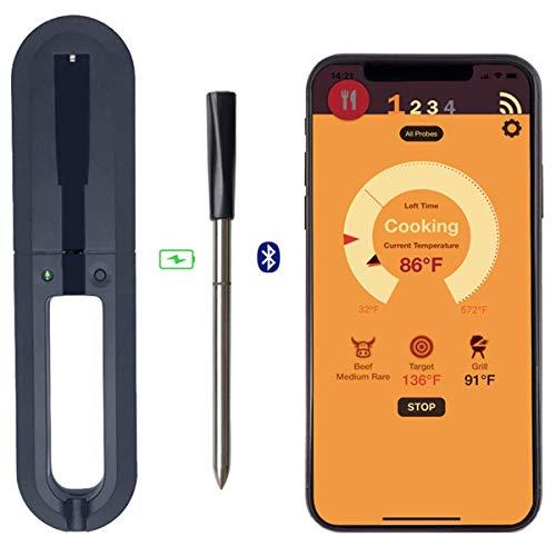 True Smart Bluetooth Connectivity Flesh Thermometer