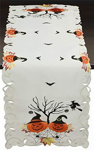 Creative Linens Halloween Table Runner