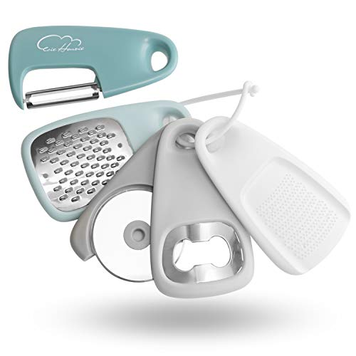 Space Saving Cooking Tools Cheese Grater, Bottle Opener