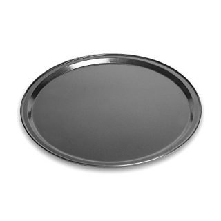Pizza Pan Made of Aluminum Black