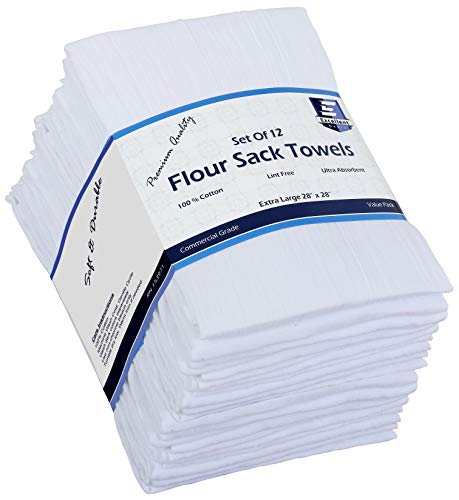 Flour Sack Kitchen Towels Cotton